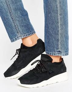 Черные кроссовки из нубука Le Coq Sportif Flow - Черный