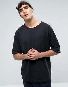 Черная свободная футболка Dr Denim Thorn - Черный