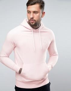 Худи розового цвета SikSilk - Розовый
