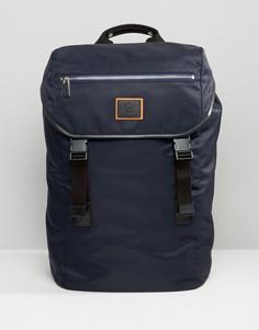 Темно-синий рюкзак с ремнями PS by Paul Smith - Темно-синий