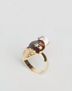 Кольцо с мороженым ASOS - Мульти