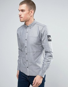 Синяя оксфордская рубашка The North Face Denali - Темно-синий