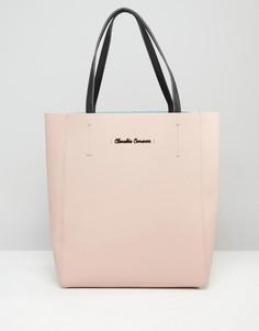Сумка-тоут в стиле колор блок Claudia Canova - Розовый