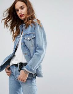 Джинсовая куртка в стиле 90-х AGOLDE Jessie - Синий