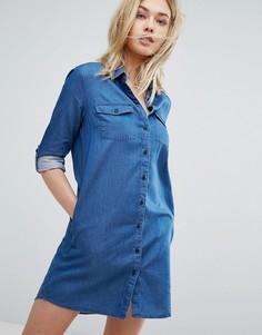 Платье-рубашка Jack Wills Maggie - Синий
