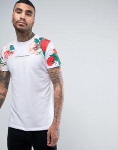 Белая футболка с цветочным принтом Criminal Damage - Белый