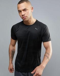 Черная футболка для бега Puma Nightcat 51496401 - Черный
