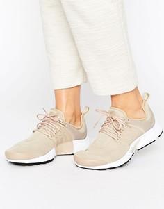 Бежевые кроссовки Nike Presto - Бежевый