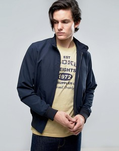 Летняя куртка Харрингтон с подкладкой Brave Soul - Темно-синий