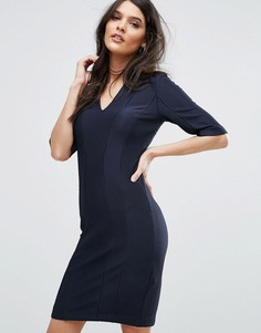 Платье Y.A.S Calice - Темно-синий