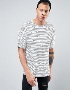 Полосатая футболка Cheap Monday - Белый