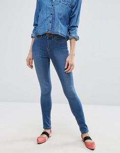Облегающие джинсы с классической талией Vero Moda - Синий