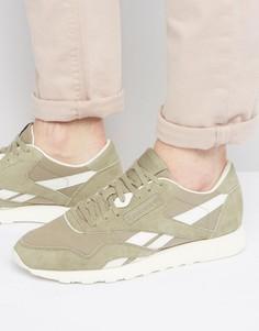 Зеленые нейлоновые кроссовки Reebok Classic BD2691 - Зеленый