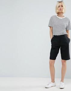 Льняные шорты ASOS - Черный