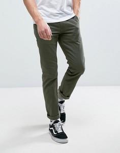 Зеленые брюки чиносы Vans Authentic VA3144KCZ - Зеленый