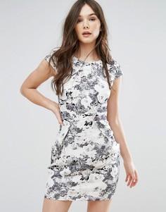 Платье-тюльпан QED London - Серый