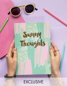 Блокнот Ohh Deer Sunny Thoughts A4 - Мульти