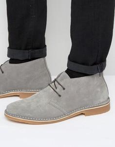 Замшевые ботинки-дезерты Jack & Jones Gobi - Серый