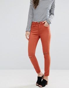 Укороченные джинсы скинни Waven Freya - Оранжевый