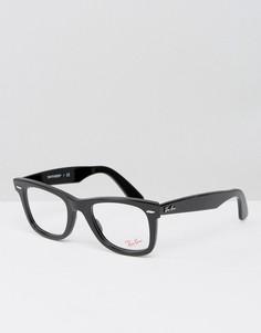 Черные очки-вайфареры Ray-Ban 0RX5121 - Черный