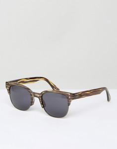 Черепаховые солнцезащитные очки Vans Steam VA311ULWF - Коричневый