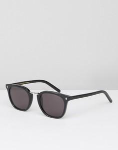 Черные квадратные солнцезащитные очки Monokel Ando - Черный