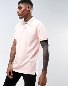 Светло-розовая футболка-поло Tokyo Laundry - Розовый
