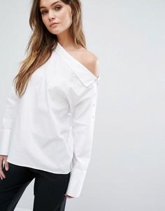 Блузка с открытым плечом Vero Moda - Белый