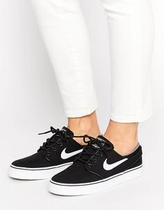 Черные кроссовки Nike SB Zoom Janoski - Черный
