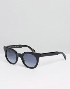 Солнцезащитные очки в массивной оправе Raen - Черный