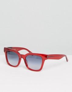 Квадратные солнцезащитные очки Raen - Красный