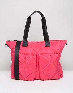Стеганая сумка ASOS LIFESTYLE - Розовый