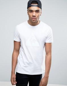 Белая футболка с принтом Le Coq Sportif Essential 1710348 - Белый