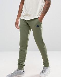 Зеленые джоггеры слим Le Coq Sportif 1710394 - Зеленый