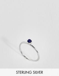 Серебряное кольцо с камнем ASOS - Серебряный
