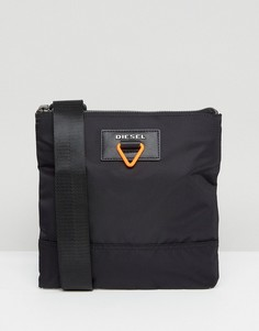 Черная сумка в стиле милитари Diesel - Черный