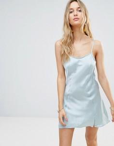 Платье-комбинация Free People - Синий