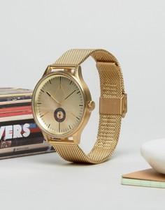 Золотистые часы с браслетом Cronometrics - Золотой