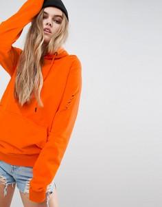 Худи Criminal Damage Shoreditch - Оранжевый