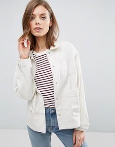 Выбеленная куртка ASOS - Белый