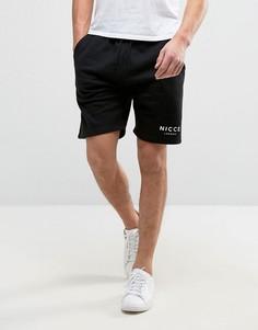 Черные шорты Nicce London - Черный