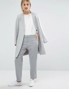 Укороченные брюки Samsoe & Samsoe - Серый