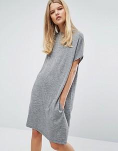 Платье Samsoe & Samsoe Janina - Серый