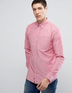 Узкая оксфордская рубашка премиум-класса Jack & Jones - Красный