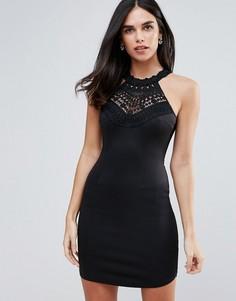 Облегающее платье мини AX Paris - Черный