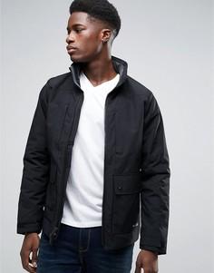 Черная термокуртка Abercrombie & Fitch - Черный
