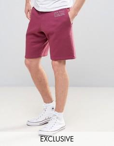 Малиновые трикотажные шорты Jack Wills Balmore - Розовый