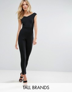 Зауженные брюки-сигареты Missguided Tall - Черный
