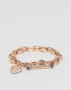 Браслет цвета розового золота Juicy Couture - Золотой
