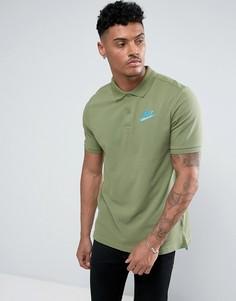 Зеленая футболка-поло Nike Matchup 829360-387 - Зеленый